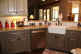 kitchen sweet u shape kitchen decoration with rustic solid wood
