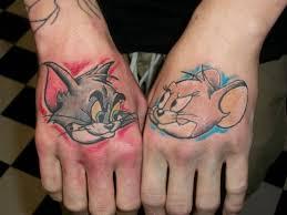 funny cartoon tattoo art and designs