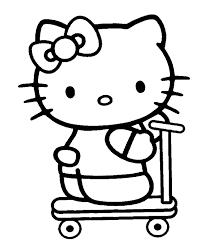 147 dessins de coloriage hello kitty à imprimer sur laguerche com