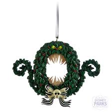 authentic disney parks nightmare before christmas wreath ornament