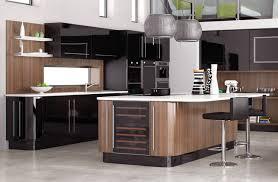 fitted kitchen design ideas york black hi gloss interior design kitchen design ideas