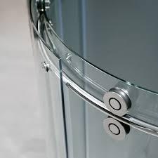 vigo vg6031chcl40r 40 x 40 frameless round shower enclosure
