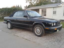 bmw e30 325i convertible for sale black on black 1988 bmw e30 325i convertible w hardtop low