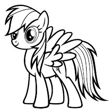 my little pony coloring pages of rainbow dash my little pony coloring pages rainbow dash free books fine mlp acpra
