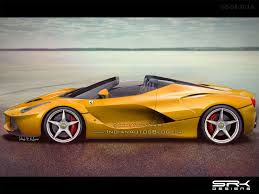 ferrari laferrari ferrari laferrari spider rendering indian autos blog