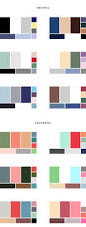 Two Tone Color Schemes by Two Tone Color Combinations Home Decorating Inspiration