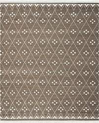 Ivory Wool Rug 8 X 10 Holiday Special Safavieh Natural Kilim Collection Nkm316a