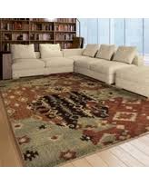 Aztec Area Rug Bargains On Carolina Weavers Ornate Expressions Collection Tansy