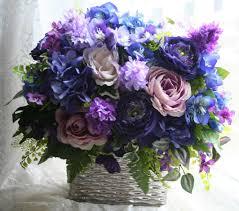 extravagant flower arrangements purple flower arrangement