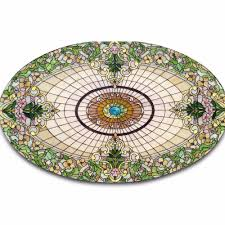 stained glass l bases china prefabricated giant house double shell stained glass dome with