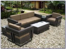 Faux Wicker Patio Sets White Resin Wicker Patio Furniture Canada Patios Home Design