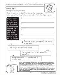 sequencing worksheet 3rd grade worksheets