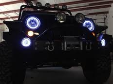Jeep Wrangler Waterproof Interior Oracle Halo Lights For Jeep Wrangler 2007 2016 Jeep Wrangler