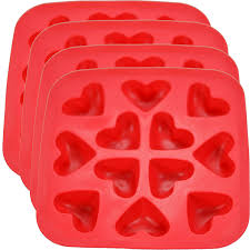 Hearts And Stars Kitchen Collection Amazon Com Fairly Odd Novelties Heart Shape Flexible Ice Cube