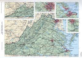 Map Of Virginia by Virginia Mapfree Maps Of Us