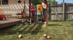 yardzee how to make a giant diy yard dice game youtube