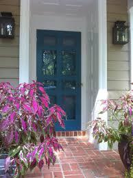 Front Door Colors For Beige House Bridget Beari Design Chat Exterior Paint Colors