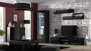 Black Living Room by Tips For Decorating With Black High Gloss Living Room Furniture