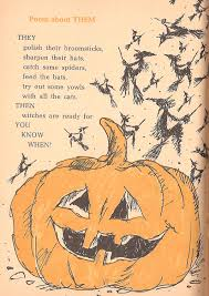 Jack Prelutsky Halloween Poems The Haunted Closet Spooky Rhymes And Riddles Lilian Moore 1972