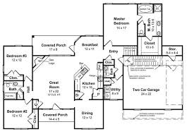 Open Floor Plan Ranch Style Homes The Simplicity Of Ranch Style Home Floor Plans