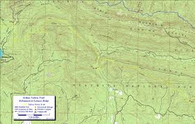 Green Ridge State Forest Camping Map by Indian Nation Trail Ouachita Mts Oklahoma