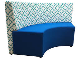 Curved Ottoman Curved Ottoman With Concave Back Distinction Furniture