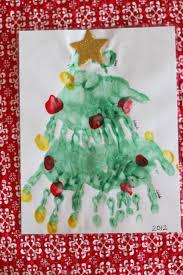 handprint and paw print christmas tree i can teach my child