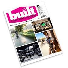 built magazine handcrafted custom motorcycles magazine