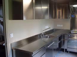 meuble de cuisine inox photos de réalisations cuisine inox cuisinezinox