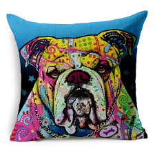 aliexpress com buy 11 styles pug chihuahua cushion covers oil