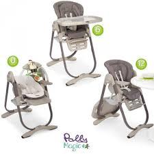 chaise b b chicco magnifique chaise polly chicco ptrufr1 7602973reg haute 2en1 magic
