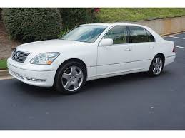 used car lexus ls 430 used 2006 lexus ls 430 sedan base crystal white for sale in athens