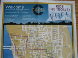 charleston trolley map charleston trolley map my