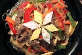 cuisine cor馥nne recette cuisine coréenne la recette du japchae kimshii