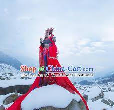 Chinese Imperial Court Dress Asian Clothing National Hanfu Costume