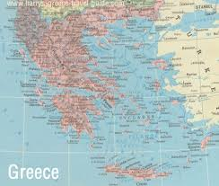 Ancient Greece Maps by A Map Of Greece