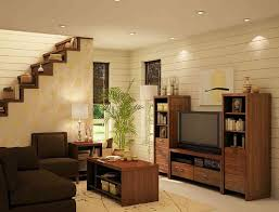 seductive interior home theater decor ideas with dark brown