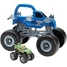 amazon wheels monster jam 15 truck storage carrying