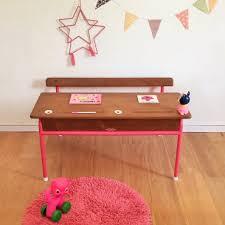 petit bureau ecolier phile le pupitre d écolier vintage 2 places rénové bureau