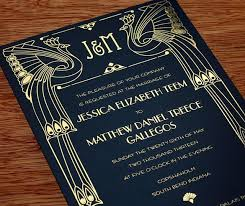 gatsby wedding invitations great gatsby wedding invitation by http invitationsbyajalon