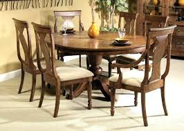 6 person round table round dining table for 6 with leaf 6 person round dining table
