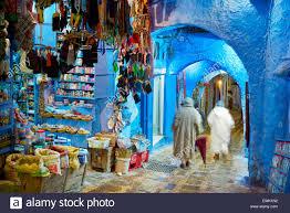 Morocco Blue City by Chefchaouen Market In Medina Morocco Stock Photos U0026 Chefchaouen