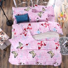 Customized Duvet Covers Aliexpress Com Buy Butterfly Printing Duvet Cover Sets Activity