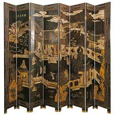 vintage room divider vintage eight panel coromandel screen at 1stdibs