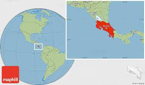 san jose costa rica on map savanna style location map of costa rica
