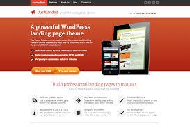 26 best landing page wordpress themes 2017 theme junkie