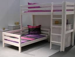 L Shaped Bunk Bed Sanblasferry - Kids l shaped bunk beds