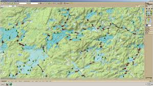 Delorme Maps Bwca Map Overlay Boundary Waters Private Group Forum Gps