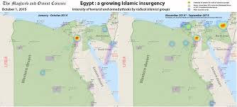 Suez Canal World Map by Egypt Map Islamic Insurgency The Maghreb And Orient Courier