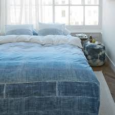 300tc tones blue quilt cover set by bedding house quilt cover